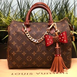 Authenticated Louis Vuitton Speedy 25 SD0948